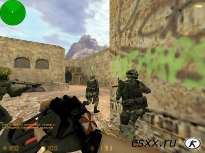 Counter-Strike 1.6 Zombie