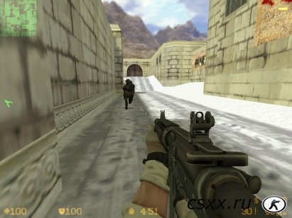 Counter-Strike 1.6 Winter New Year