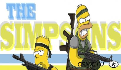Counter-Strike 1.6 Simpsons