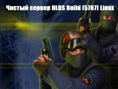 Чистый сервер HLDS Build [5787] Linux