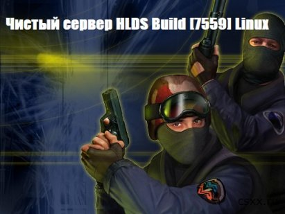 Чистый сервер HLDS Build [7559] Linux