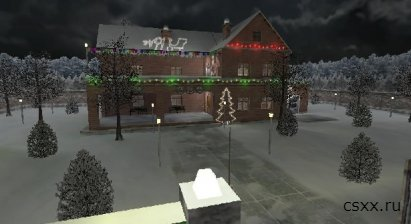 Карта cs_xmas_house / maps for 1ю6 скачать