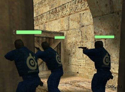 "Плагин для Counter-Strike 1.6 ""Health Bar v2.0"""